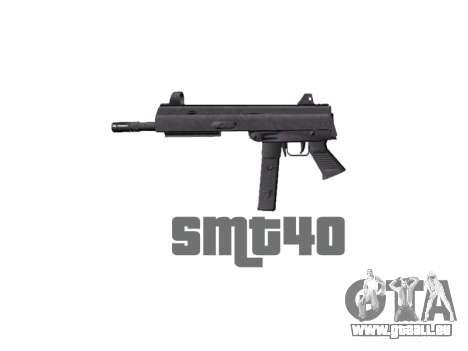 Pistolet SMT40 pas de fesses icon1 pour GTA 4 troisième écran