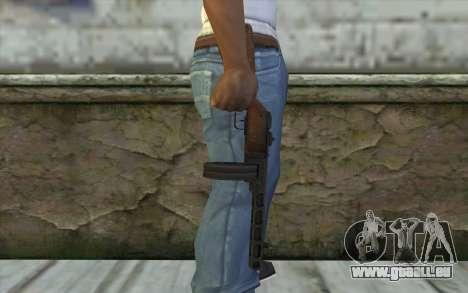 PPSH-41 v2 pour GTA San Andreas troisième écran