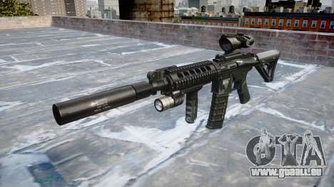 Maschine Taktische M4A1 CQB Ziel für GTA 4
