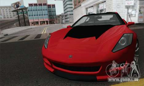 GTA 5 Invetero Coquette pour GTA San Andreas sur la vue arrière gauche