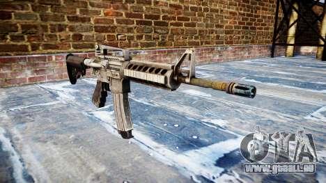 Automatische M4A1 carbine für GTA 4