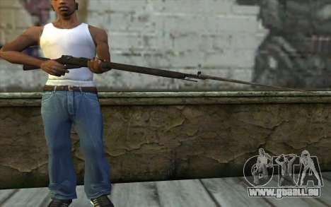 Die Gewehre Mosin-v10 für GTA San Andreas dritten Screenshot