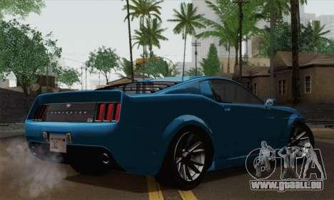 GTA 5 Dominator pour GTA San Andreas laissé vue