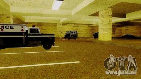 Neue Fahrzeuge im LSPD für GTA San Andreas sechsten Screenshot