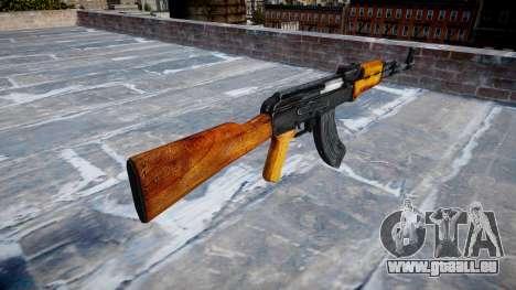 Kalachnikov pour GTA 4 secondes d'écran