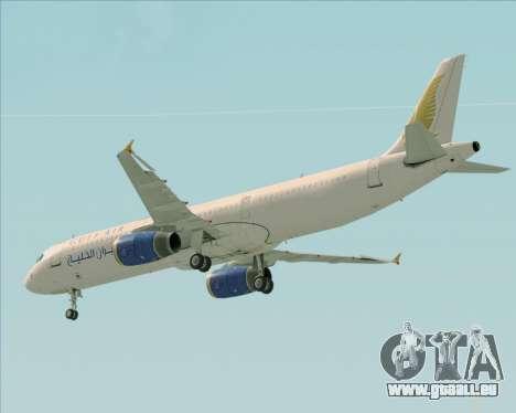 Airbus A321-200 Gulf Air für GTA San Andreas Räder