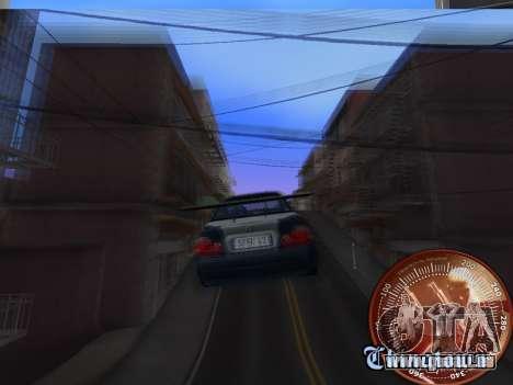 Compteur de vitesse HITMAN pour GTA San Andreas cinquième écran