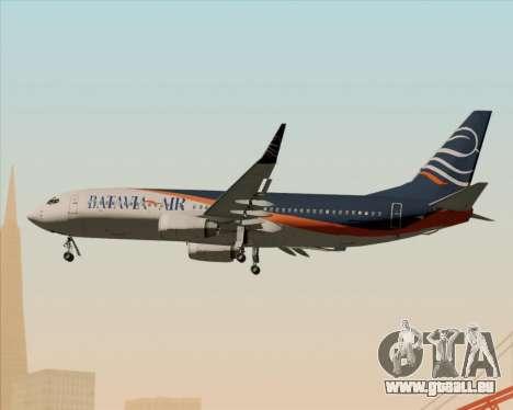 Boeing 737-800 Batavia Air (New Livery) für GTA San Andreas Seitenansicht