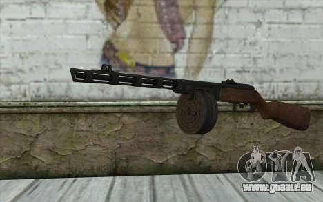 PPSH-41 v2 pour GTA San Andreas