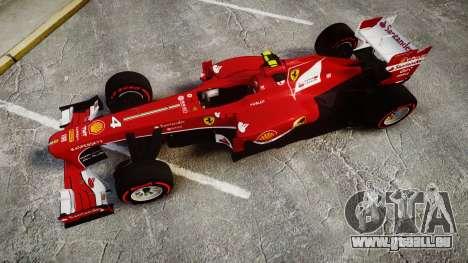 Ferrari F138 v2.0 [RIV] Massa TSSD für GTA 4 rechte Ansicht