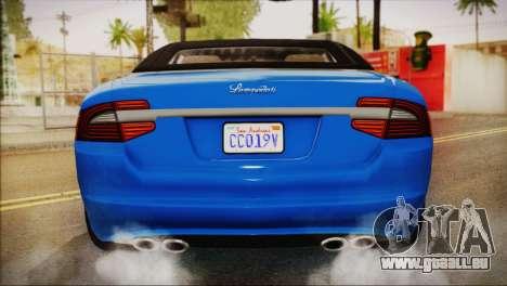 Lampadati Felon GT (IVF) pour GTA San Andreas vue de droite