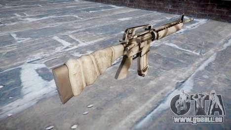 Le M16A2 fusil pour GTA 4 secondes d'écran