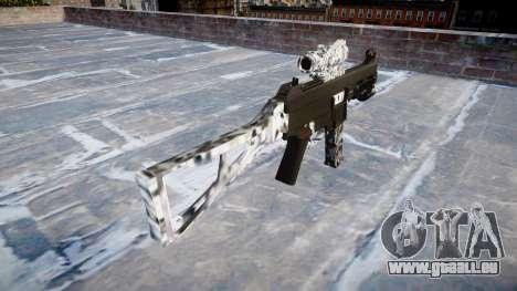 Pistolet UMP45 de Diamant pour GTA 4 secondes d'écran
