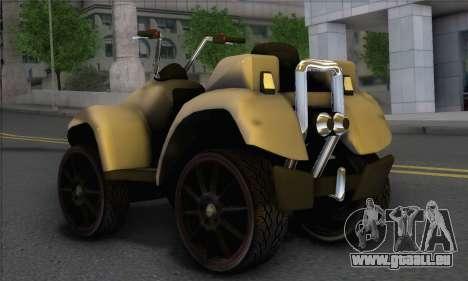 New Quad pour GTA San Andreas laissé vue