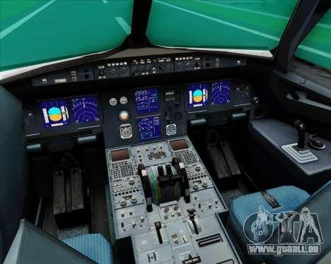 Airbus A321-200 S7 - Siberia Airlines für GTA San Andreas Innen