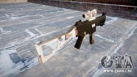 Pistolet UMP45 Choco pour GTA 4 secondes d'écran