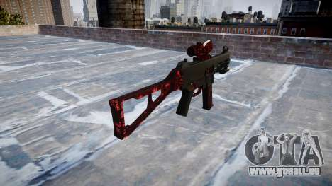 Pistolet UMP45 Art de la Guerre pour GTA 4 secondes d'écran