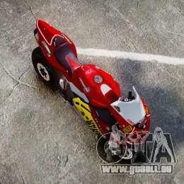 MV Agusta F4 für GTA 4 rechte Ansicht