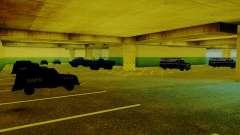 De nouveaux véhicules dans le LVPD