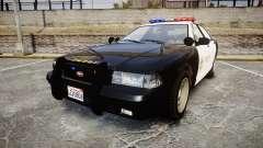 GTA V Vapid Cruiser LSS Black [ELS]