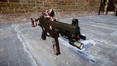 Pistolet UMP45 sont injectés de sang