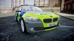 BMW 530d F11 Metropolitan Police [ELS] SEG