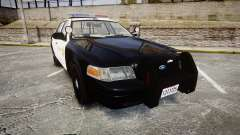 Ford Crown Victoria LASD [ELS] Marked pour GTA 4