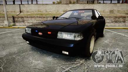 GTA V Vapid Cruiser Police Unmarked [ELS] Slick pour GTA 4