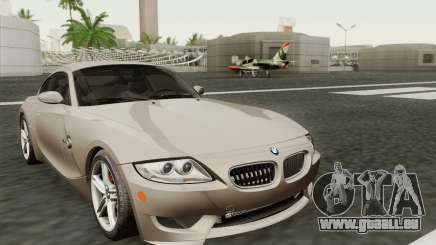 BMW Z4M Coupe 2008 Stock für GTA San Andreas