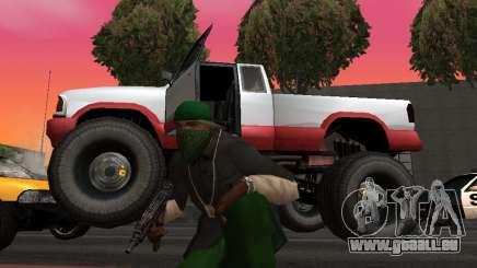 De nouvelles textures roues Monster pour GTA San Andreas