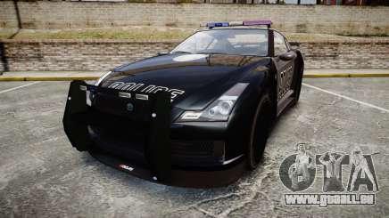 GTA V Annis Elegy RH8 Police [ELS] pour GTA 4