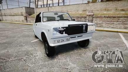 ВАЗ-2107 Avtosh Style pour GTA 4