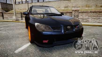 Subaru Impreza WRX STI für GTA 4