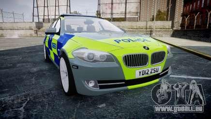 BMW 530d F11 Metropolitan Police [ELS] SEG für GTA 4