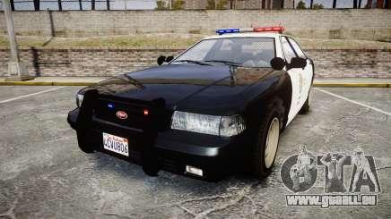 GTA V Vapid Cruiser LSP [ELS] pour GTA 4