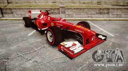 Ferrari F138 v2.0 [RIV] Massa TSSD für GTA 4