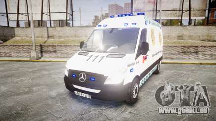 Mercedes-Benz Sprinter ARM Ambulance [ELS] pour GTA 4