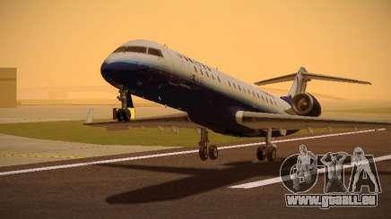 Bombardier CRJ-700 United Express für GTA San Andreas