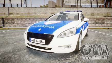 Peugeot 508 Republic of Srpska [ELS] pour GTA 4