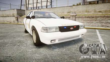 GTA V Vapid Cruiser LSS White [ELS] Slicktop pour GTA 4