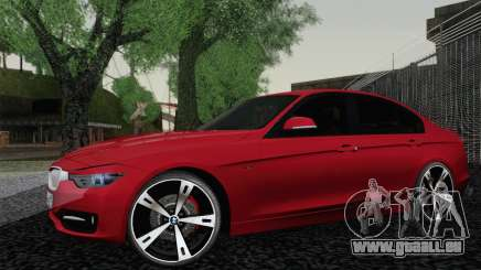 BMW 3 Series F30 2013 pour GTA San Andreas