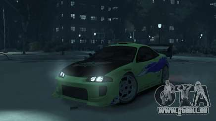Mitsubishi Eclipse from Fast and Furious pour GTA 4