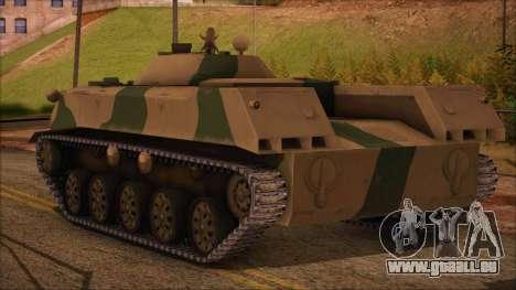 DMO-1 à partir de l'ArmA Armed Assault Camouflag pour GTA San Andreas laissé vue