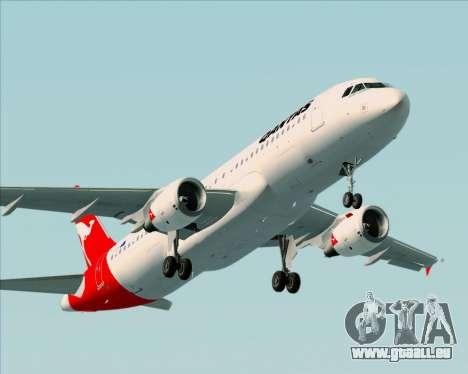Airbus A320-200 Qantas für GTA San Andreas Motor