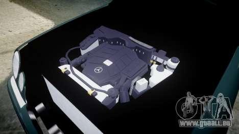 Mercedes-Benz W210 E55 2000 AMG pour GTA 4 Vue arrière