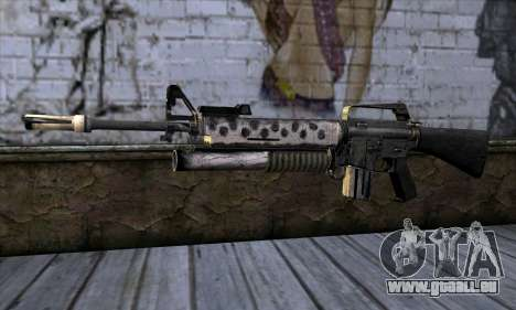 M4 from Call of Duty: Black Ops v2 für GTA San Andreas