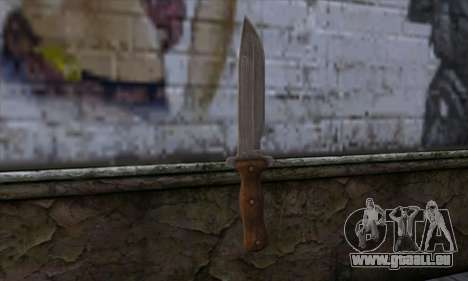 Daryl Knife from The Walking Dead für GTA San Andreas zweiten Screenshot