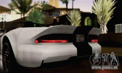 GTA 5 Bravado Banshee (IVF) für GTA San Andreas zurück linke Ansicht