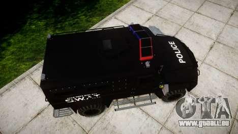 SWAT Van [ELS] für GTA 4 rechte Ansicht