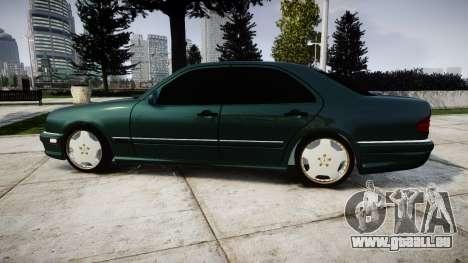 Mercedes-Benz W210 E55 2000 AMG pour GTA 4 est une gauche
